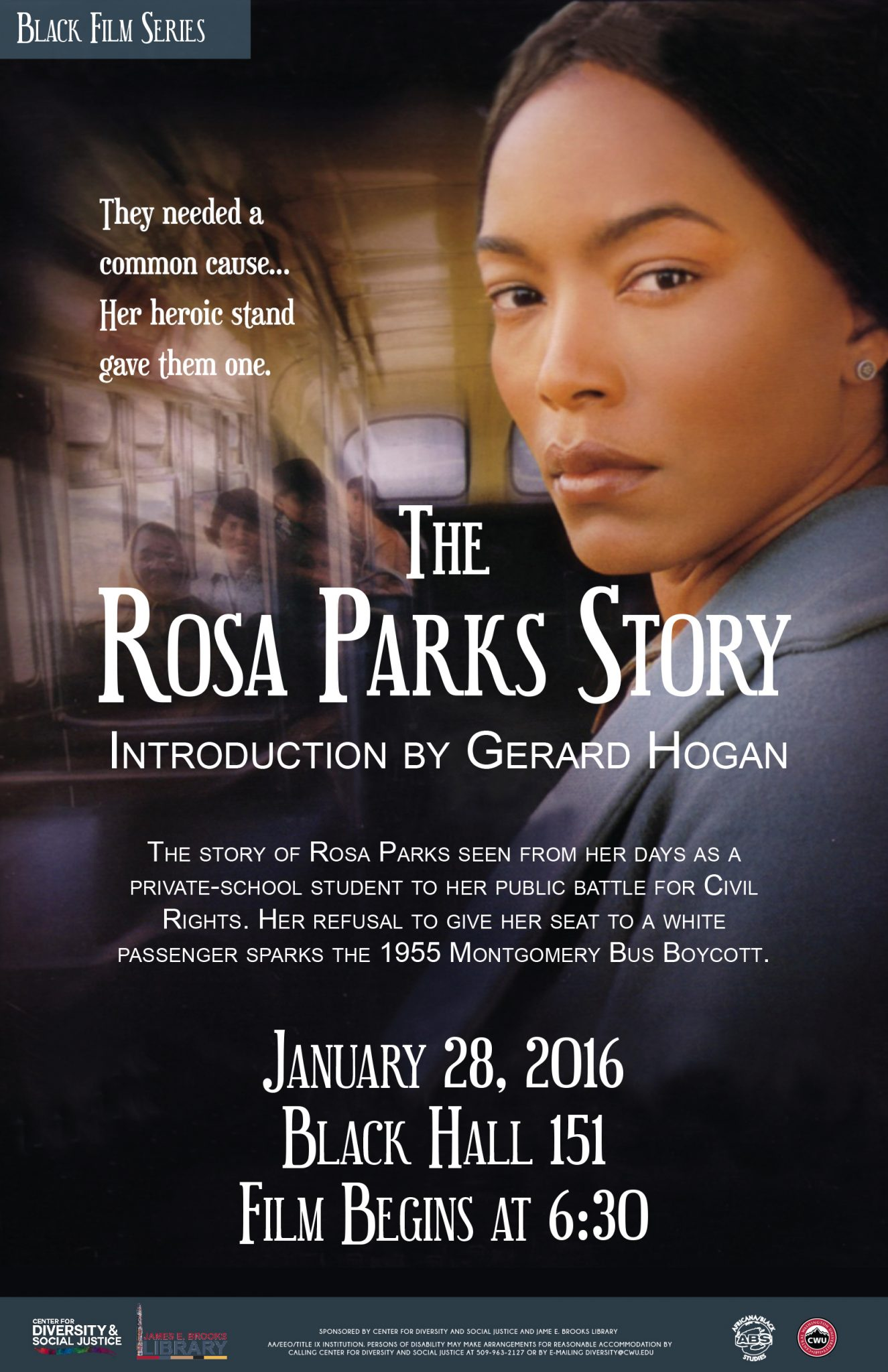 Upcoming Events CWU Black Film Series: The Rosa Parks Story   Northern ...