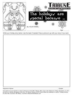 2012 Holiday Essays Form