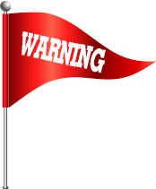 Red flag warning dating