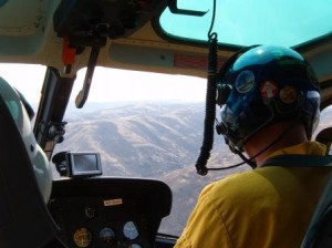 Helicopter Flight To Measure And Evaluate Situation On Colockum Tarps Wildfire Credit: Washington Interagency Incident Management Team #4