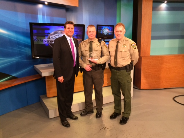 Kittitas County Deputy to be honored on Washington's Most Wanted TV show Saturday