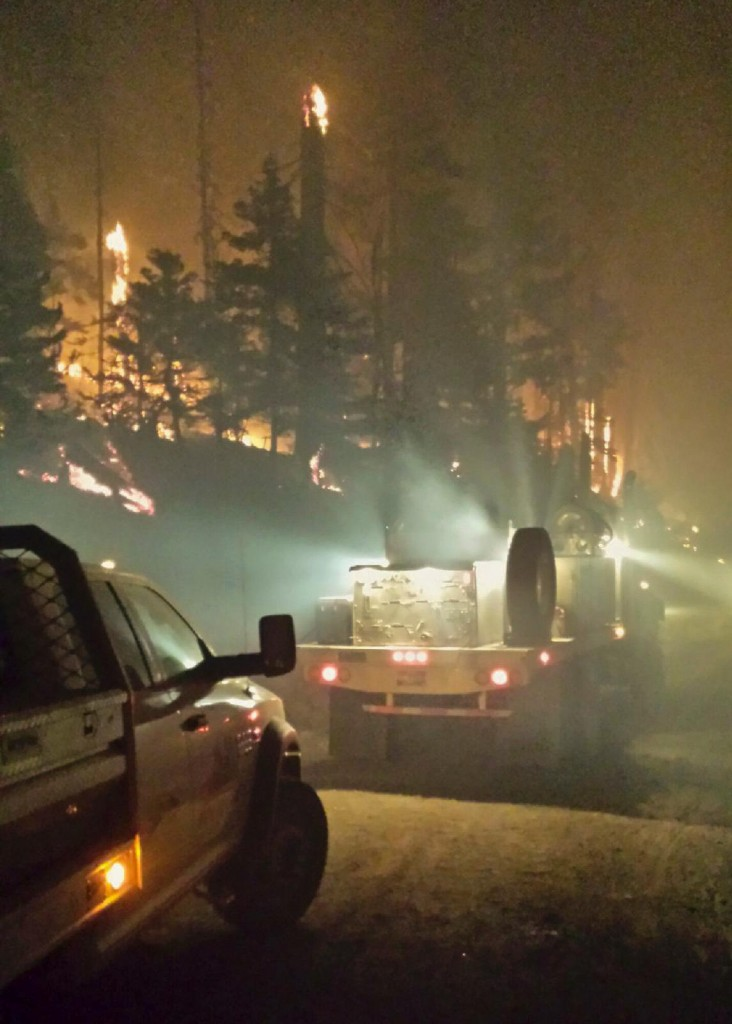 Night Shift - photo courtesy of USFS