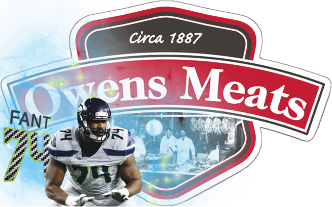 George Fant autograph signing at Owens Meats