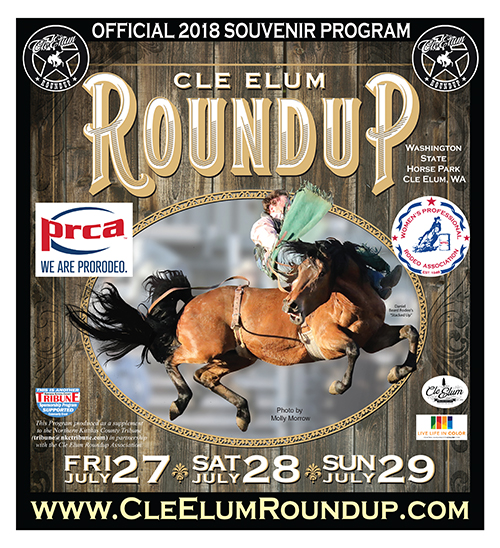 Official Program for the 2018 Cle Elum Roundup