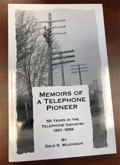 'Memoirs of a Telephone Pioneer' – Historical society publishes new book