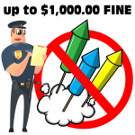 Sheriff's Office to Enforce Burn Ban, Fireworks Prohibition – up to $1,000 fine